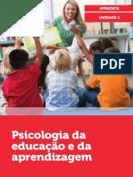 Psicologia da educação e da aprendizagem