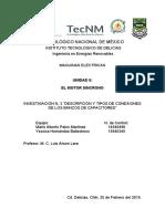 DESCRIPCIÓN Y TIPOS DE CONEXIONES DE LOS BANCOS DE CAPACITORES