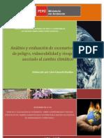 Análisis y evaluación de escenarios sobre vulnerabilidad y riesgos del CC que contribuyan a definir las políticas de OT