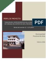 PIP Centro Recreacional Yungaqui