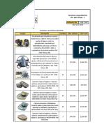 3242 - Cotización Respiradores y cartuchos