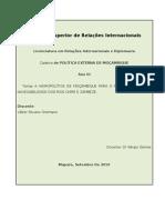 Hidropolítica de Moçambique - Malawi_dissertação[ANÁLISE DE POLÍTICA EXTERNA]