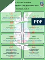 Cartaz Torneio Inter-selec Regionais s15 2010 (iniciados)