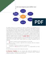 El análisis interno de una empresa para definir una buena estrategia