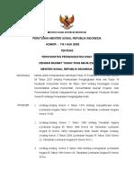 Permensos No. 110-Huk-2009 Ttg Persyaratan Pengangkatan Anak