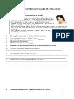 CARACTERISES PHYSIQUES ET L'APPARENCE.doc
