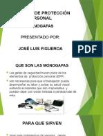 ELEMENTO DE PROTECCIÓN GAFAS