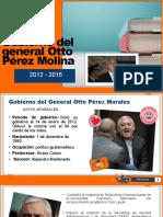 Gobierno del general Otto Pérez Molina