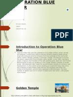 OPERATION BLUE STAR PIYUSH