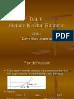 6 Metode Newton Raphson