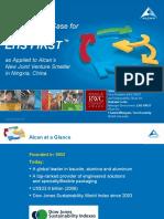Alcan Business Case Slides -- Robert W. Campbell Award