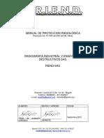 MANUAL DE PROTECCION RADIOLOGICA SEPT- 2013