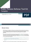 Public Pension Defense Tool Kit