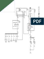 Montana - Controle dos faróis de neblina e lâmpadas dos faróis de neblina - Diagrama elétrico