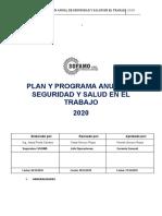 PLAN ANUAL SEGURIDAD Y SALUD EN EL TRABAJO SOFAMO 2020.docx
