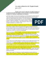 En firme acusación contra exdirectivos de Chiquita Brands por presuntos pagos a AUC