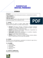 Business Plan Fuentes Paraiso Ago 07