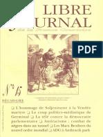 Libre Journal de la France Courtoise N°015