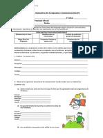 prueba diferenciada funciones y elementos del l.
