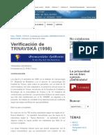 D-4a Verificación de TRNAVSKÁ en 1998