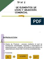DISEÑO Y SELECCION (proyecto)