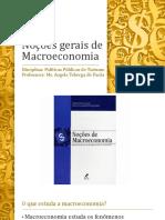 Noções gerais de Macroeconomia
