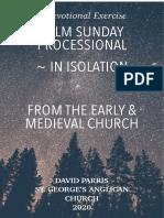 Palm Sunday Devotional