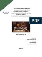 ENSAYO. UNIDAD No. 03. DERECHO PROCESAL CIVIL I. ALBERT CASTRO, C.I. 9671076