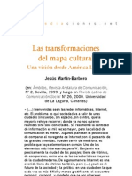 Las transformaciones del mapa cultural. Una visión desde América Latina