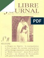 Libre Journal de la France Courtoise N°018