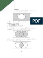 Simple de Morgan and Various Laws