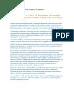 Generalidades de la Antropología Psicológica y sus propósitos