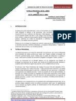 GARCÍA_Tutela Procesal en libro de Acto Jurídico CC.P