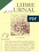 Libre Journal de la France Courtoise N°022