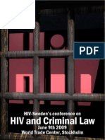 HIV and Criminal Law
