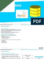 Databases with MySQL