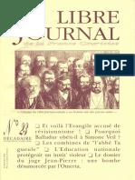 Libre Journal de la France Courtoise N°023