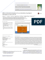 Effects of Elevated Atmopheric 2 on dissolution of geological fluorapatite in water and soil