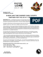 12 -15 B-Sens Partner With Time Warner Cable Sports