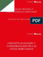 TALLER DE DEFENSA Y JUSRISPRUDENCIA TRIBUTARIA - CLASE 1