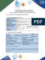 Guia de actividades y rúbrica de evaluación - Fase 3 - Aplicar la metodología de Checkland