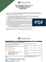 Ruta de aprendizaje y evaluación Entrega 1 (2018-2) Rev27_08_18