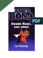 Ian Fleming - 1957 -  Desde Rusia con amor.pdf