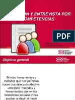 MATERIAL SELECCIÓN Y ENTREVISTA POR COMPETENCIAS 2014