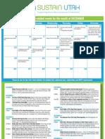 Sustain Utah Calendar Dec 2010