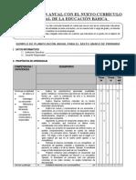 PLANIFICACION CURRICULAR MODELO 6° GRADO (1)