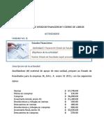ACTIVIDAD UNIDAD II (2) ESTADOS FINANCIEROS