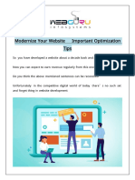 Modernize Your Website