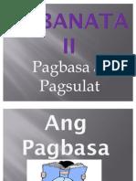 Kabanata II