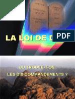 19. LA LOI DE DIEU